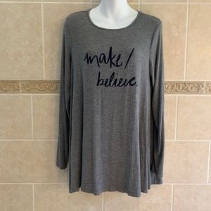 Aerie just add leggings make believe tunic